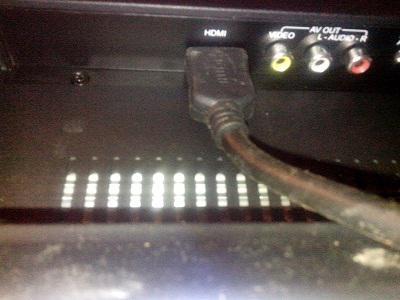 Порты видео и удио, HDMI