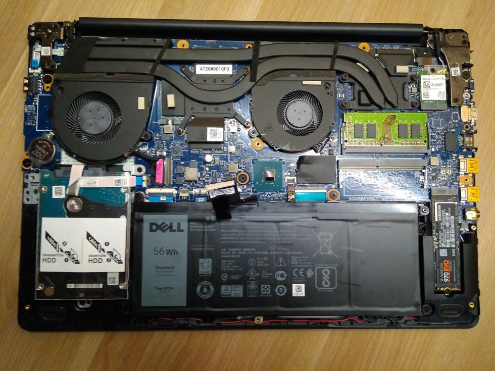 SSD установлен