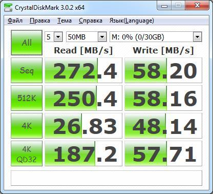 CrystalDiskInfo 50MB