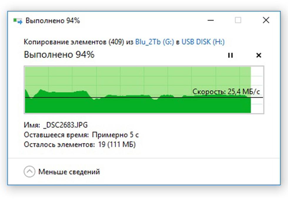 Запись большого количества фотографий  USB DATO DB8002U3 32Гб, USB3.0