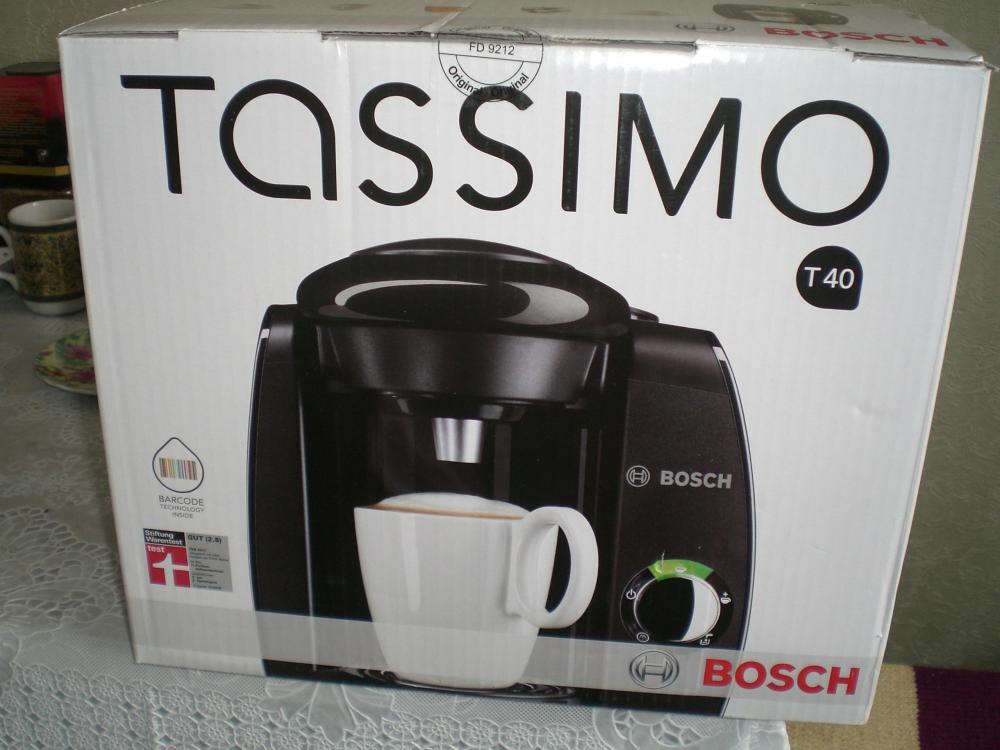 А вот и она Bosch Tassimo