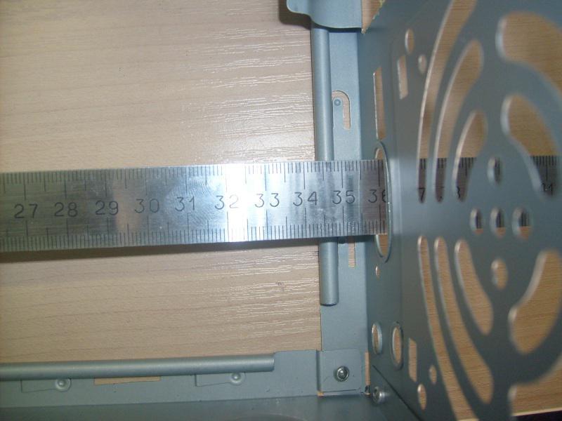 Видеокарту можно вставить длиной до 35 см.