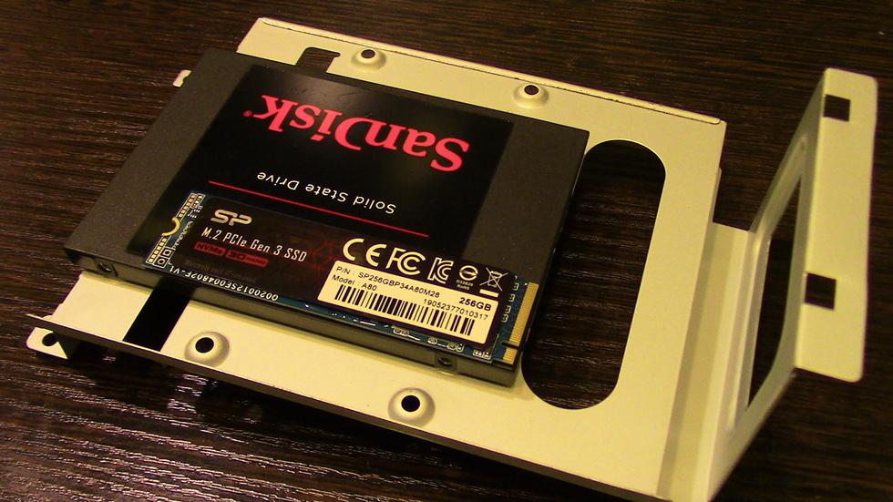 М2 в сравнении с SSD SATA