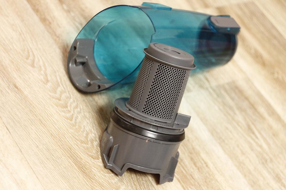 Резервуар для пыли и фильтр