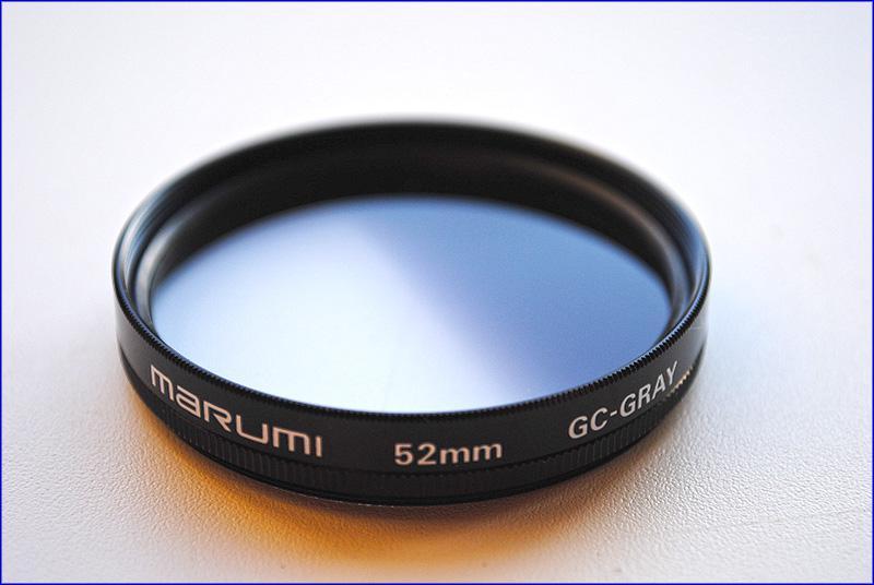 Градиентный сетофильтр MARUMI GC-Gray, 52мм
