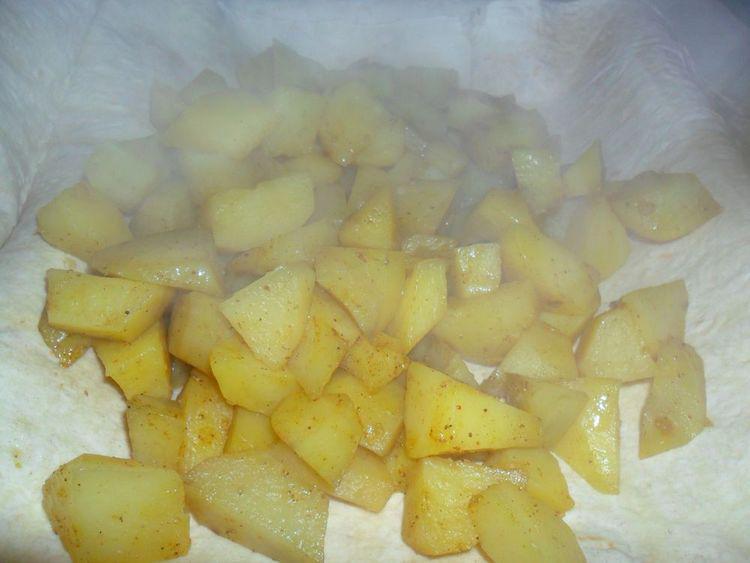 картошка на пору.