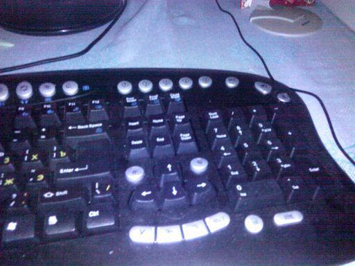 Правая сторона клавиатуры