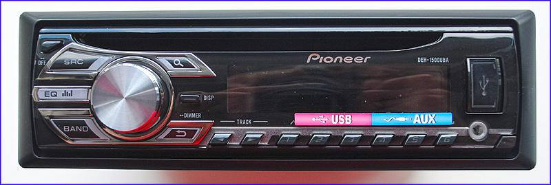 Автомагнитола PIONEER DEH-1500UBА
