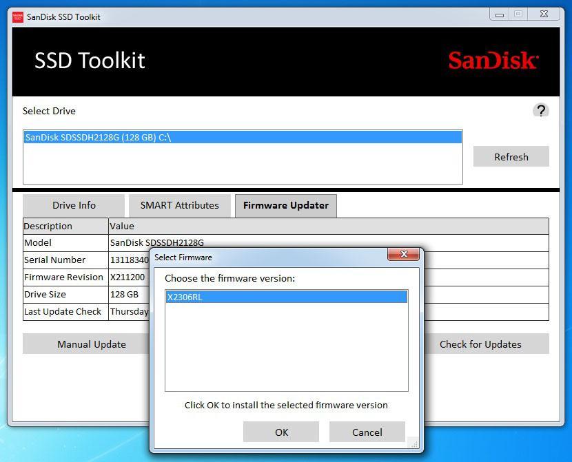 SSD накопитель SANDISK Ultra Plus SDSSDHP-128G-G25 128Гб